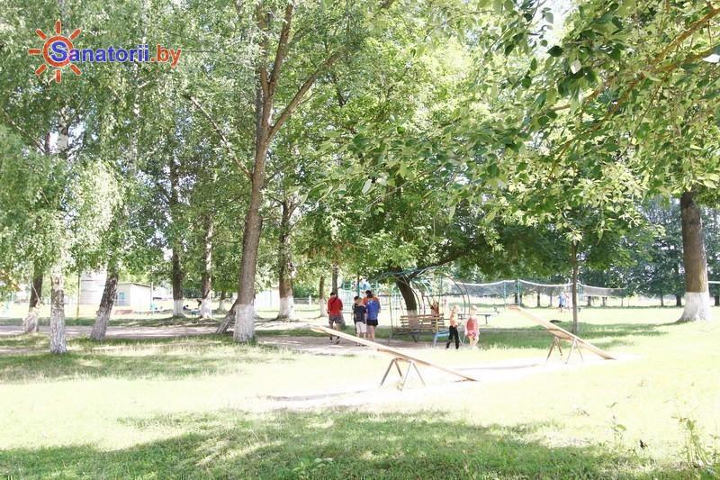 Санатории Белоруссии Беларуси - детский санаторий Свислочь - Детская площадка