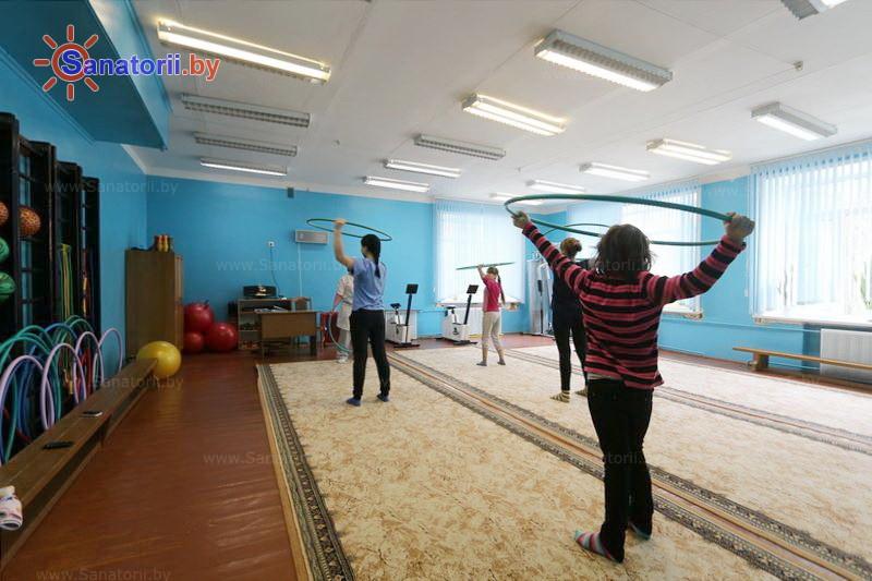 Санатории Белоруссии Беларуси - детский санаторий Свислочь - Лечебная физкультура (ЛФК)