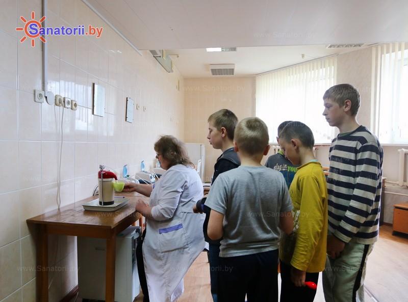 Санатории Белоруссии Беларуси - детский санаторий Свислочь - Оксигенотерапия (кислородотерапия)