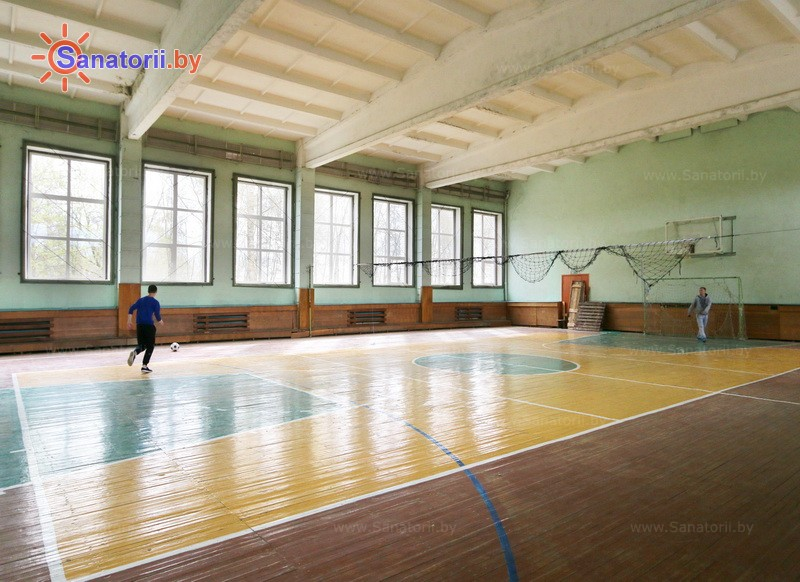 Санатории Белоруссии Беларуси - детский санаторий Свислочь - Спортзал