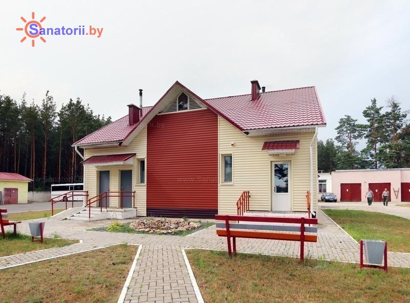Санатории Белоруссии Беларуси - ДРОЦ Птичь - баня