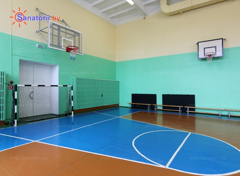 Санатории Белоруссии Беларуси - ДРОЦ Птичь - Спортзал