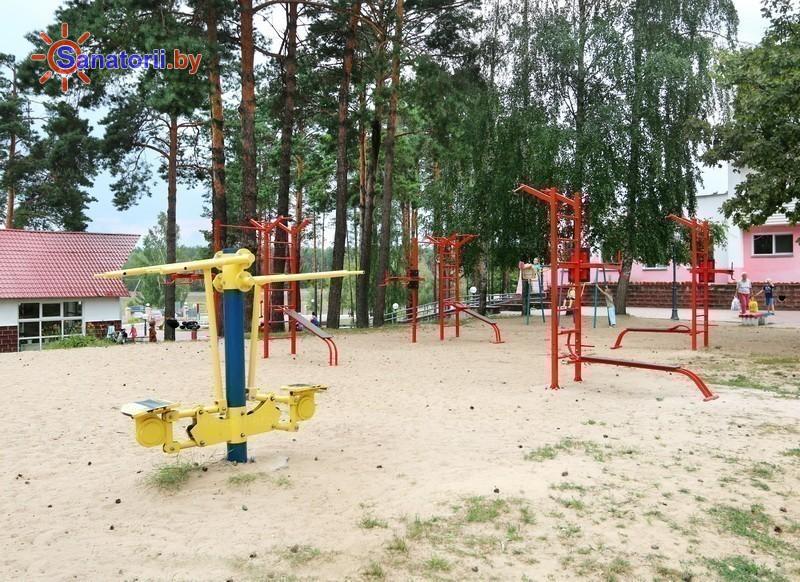 Санатории Белоруссии Беларуси - ДРОЦ Птичь - Уличные тренажеры