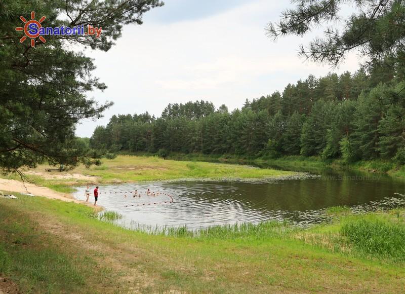 Санатории Белоруссии Беларуси - ДРОЦ Птичь - Водоём