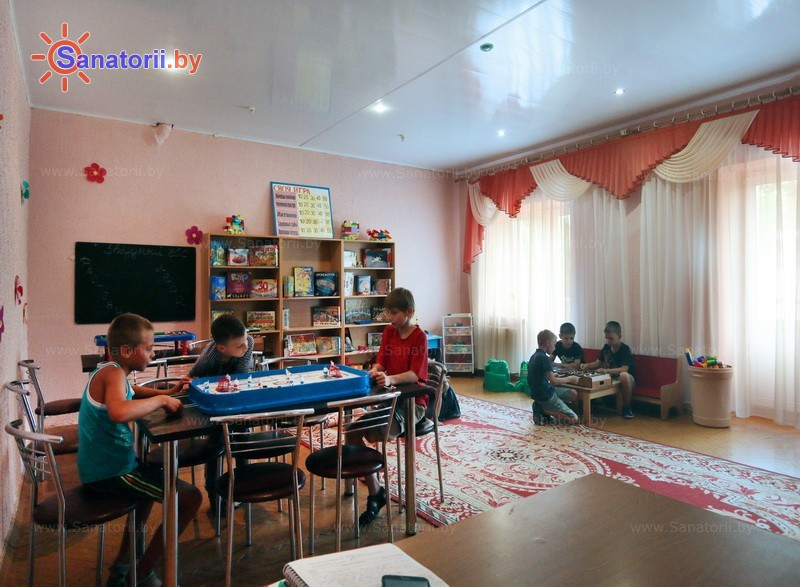 Санатории Белоруссии Беларуси - ДРОЦ Птичь - Детская комната