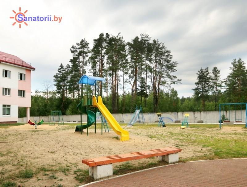 Санатории Белоруссии Беларуси - ДРОЦ Птичь - Детская площадка
