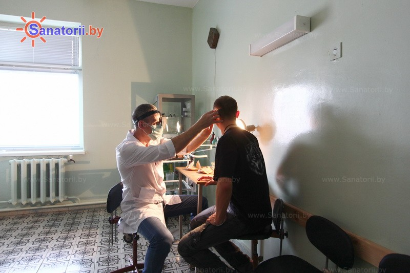 Санатории Белоруссии Беларуси - ДРОЦ Свитанак - Кабинеты профильных специалистов