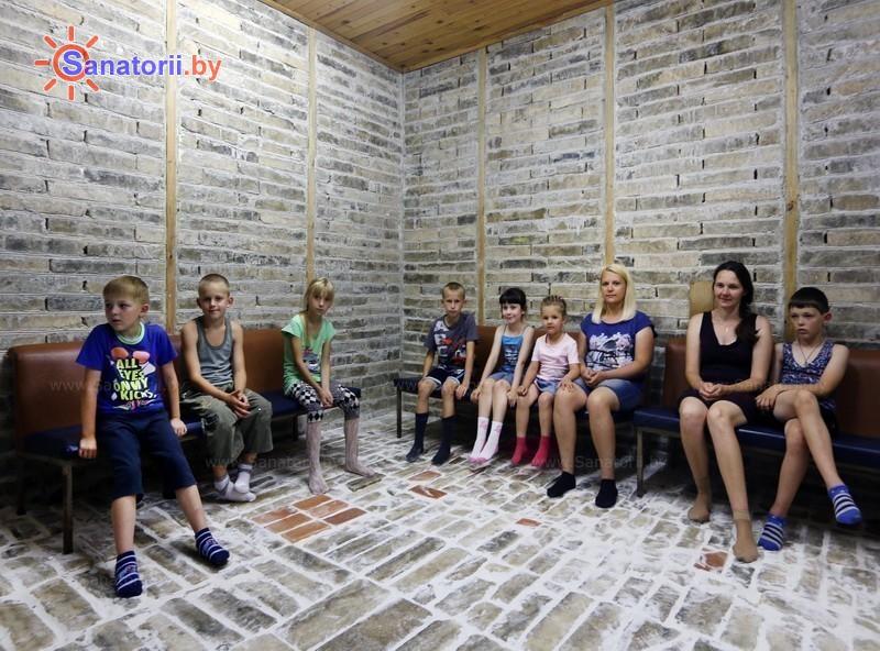 Санатории Белоруссии Беларуси - ДРОЦ Свитанак - Спелеотерапия
