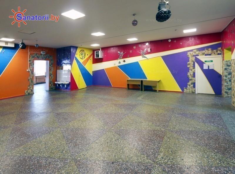 Санатории Белоруссии Беларуси - ДРОЦ Свитанак - Танцевальный зал