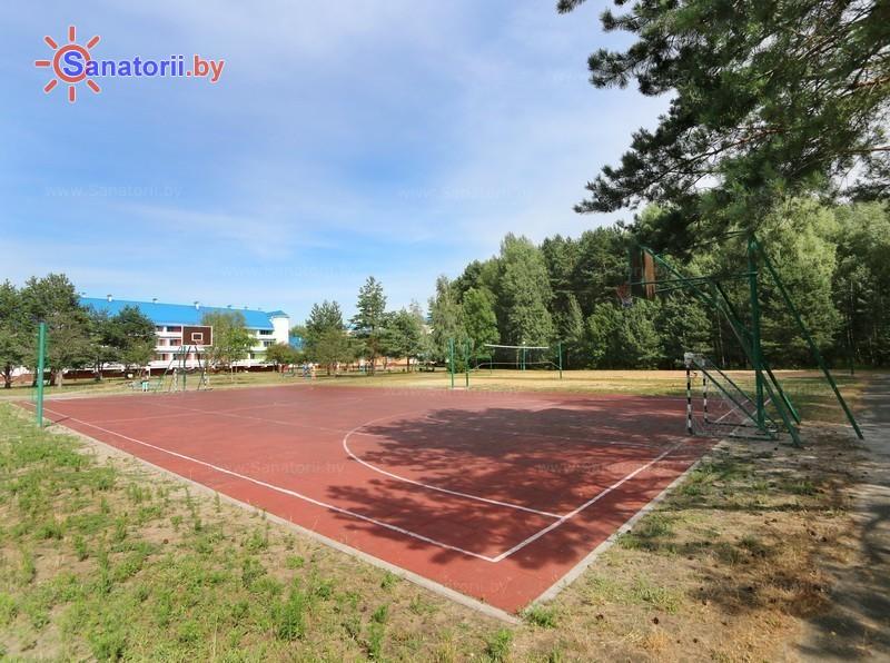 Санатории Белоруссии Беларуси - ДРОЦ Свитанак - Спортплощадка
