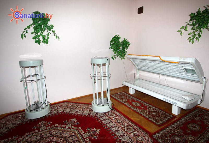Санатории Белоруссии Беларуси - ДРОЦ Свитанак - Солярий