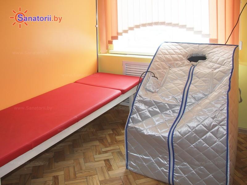 Санатории Белоруссии Беларуси - ДРОЦ Свитанак - Ванна сухая углекислая