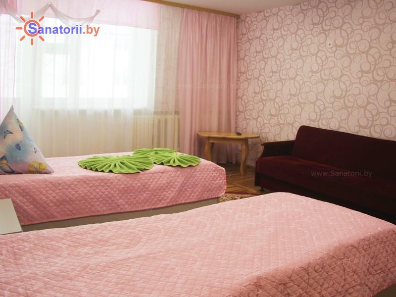 Санатории Белоруссии Беларуси - ДРОЦ Свитанак - двухместный однокомнатный (спальный корпус №1)