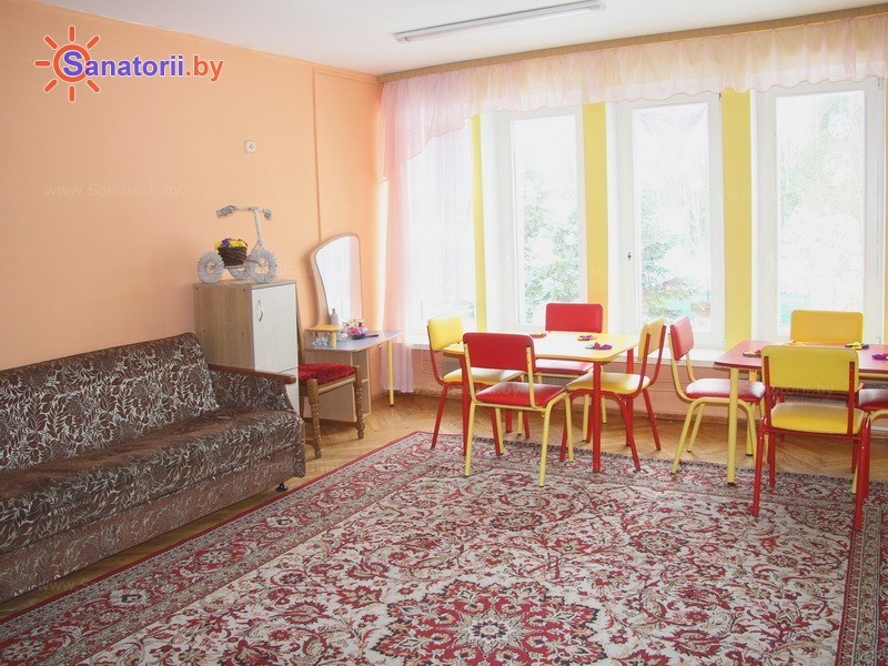 Санатории Белоруссии Беларуси - ДРОЦ Свитанак - Детская комната
