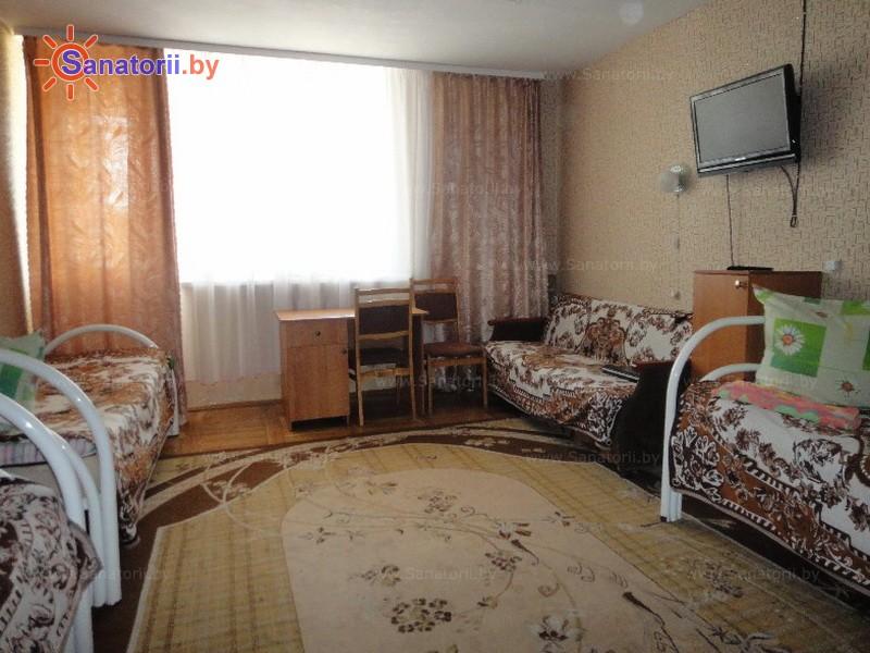 Санатории Белоруссии Беларуси - ДРОЦ Свитанак - четырехместный в блоке (спальный корпус №1)