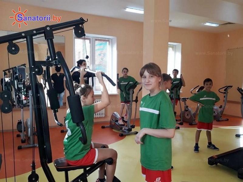 Санатории Белоруссии Беларуси - ДРОЦ Свитанак - Тренажерный зал (механотерапия)