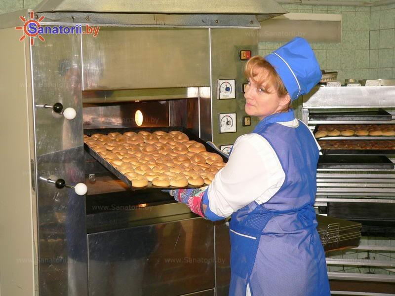 Санатории Белоруссии Беларуси - ДРОЦ Надежда - Столовая