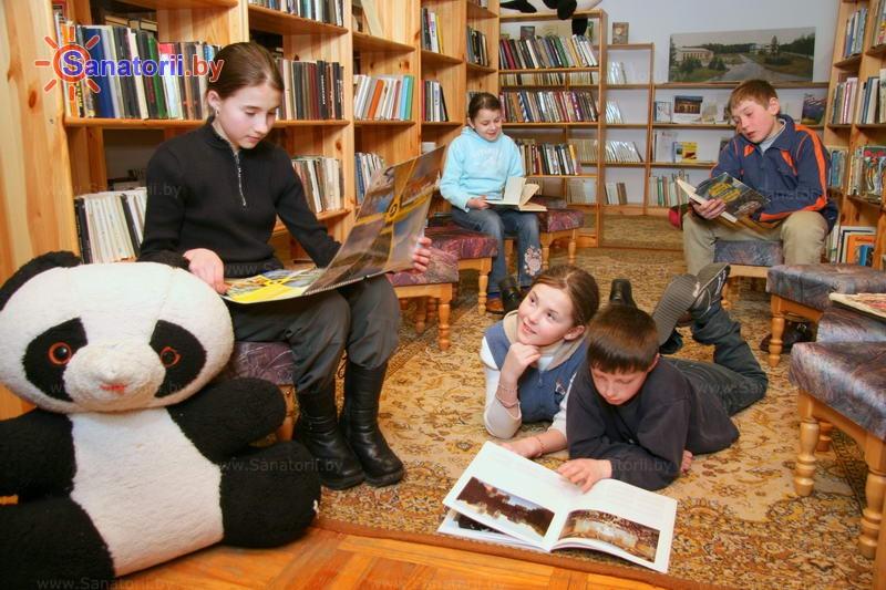Санатории Белоруссии Беларуси - ДРОЦ Надежда - Библиотека