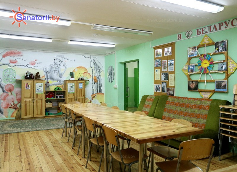 Санатории Белоруссии Беларуси - ДРОЦ Надежда - Детская комната