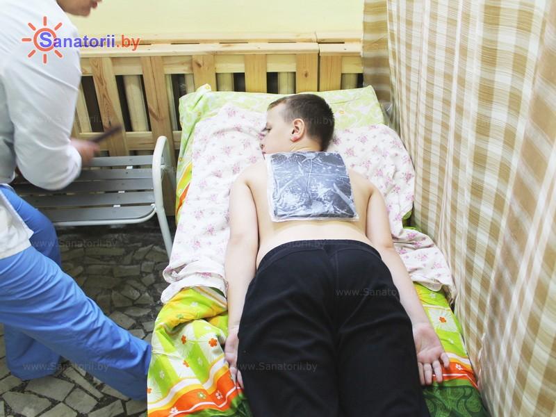 Санатории Белоруссии Беларуси - ДРОЦ Романтика Люкс - Грязелечение (пелоидотерапия)