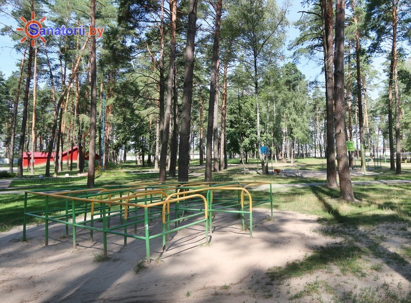 Санатории Белоруссии Беларуси - ДРОЦ Романтика Люкс - Детская площадка