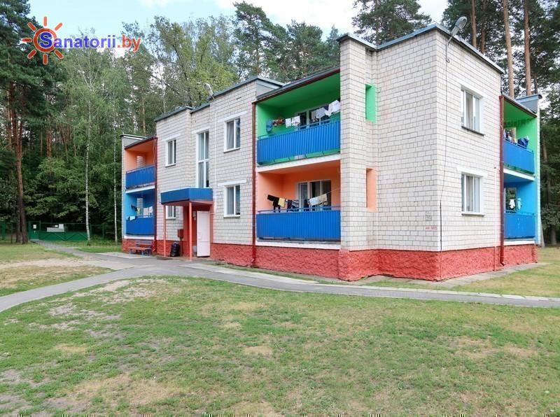 Санатории Белоруссии Беларуси - ДРОЦ Качье - спальный корпус №3