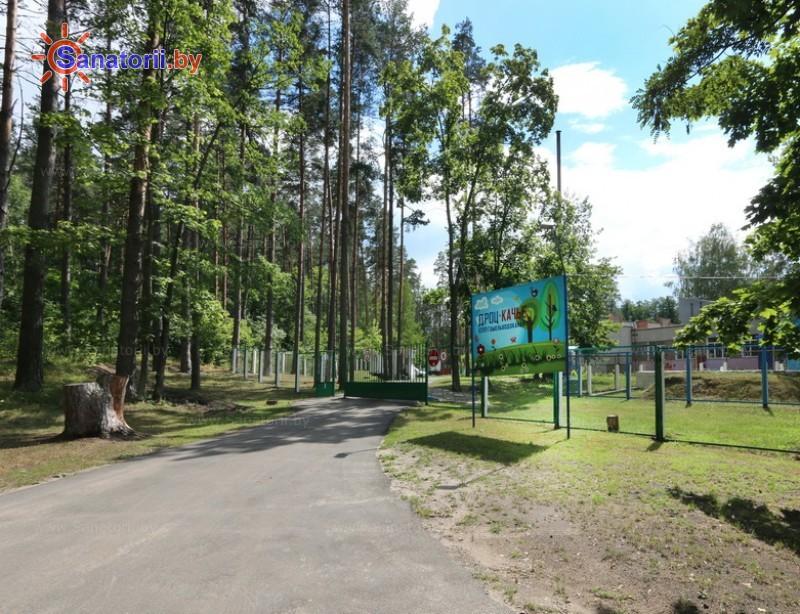 Санатории Белоруссии Беларуси - ДРОЦ Качье - Территория и природа