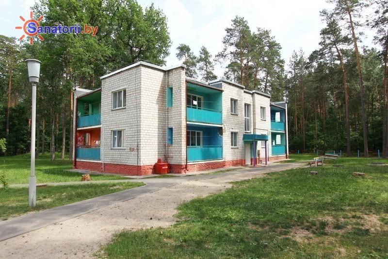 Санатории Белоруссии Беларуси - ДРОЦ Качье - спальный корпус №4
