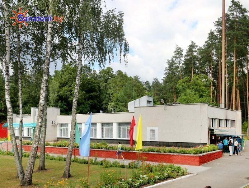 Санатории Белоруссии Беларуси - ДРОЦ Качье - столовая