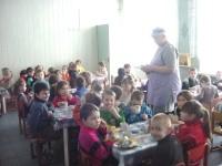 детского санатория Радуга - Питание