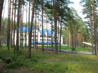 профилактория Полоцкий - Территория и природа