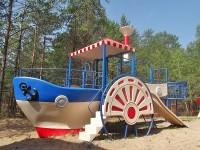 детский санаторий Боровичок - Детская площадка