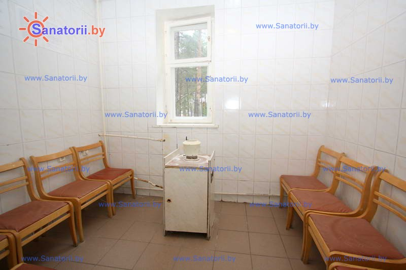 Санатории Белоруссии Беларуси - детский санаторий Боровичок - Галотерапия