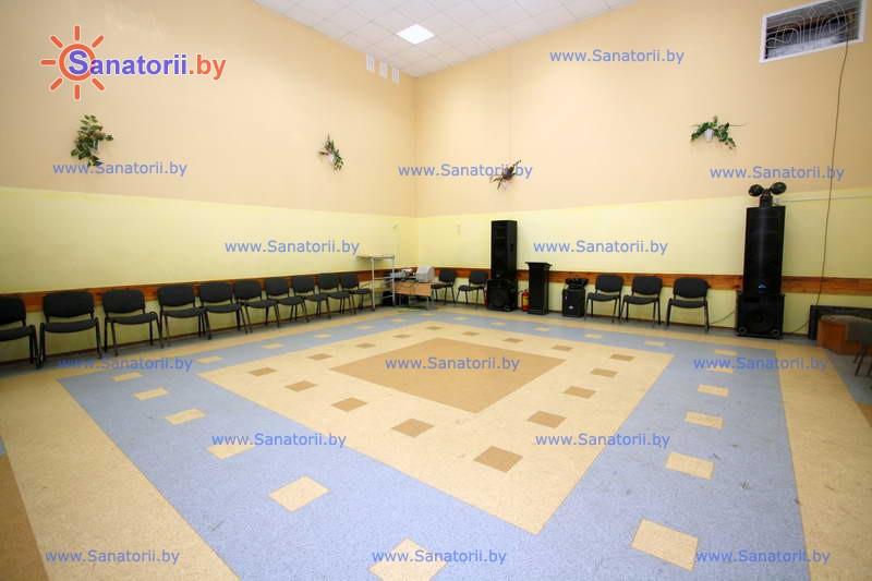 Санатории Белоруссии Беларуси - детский санаторий Боровичок - Танцевальный зал