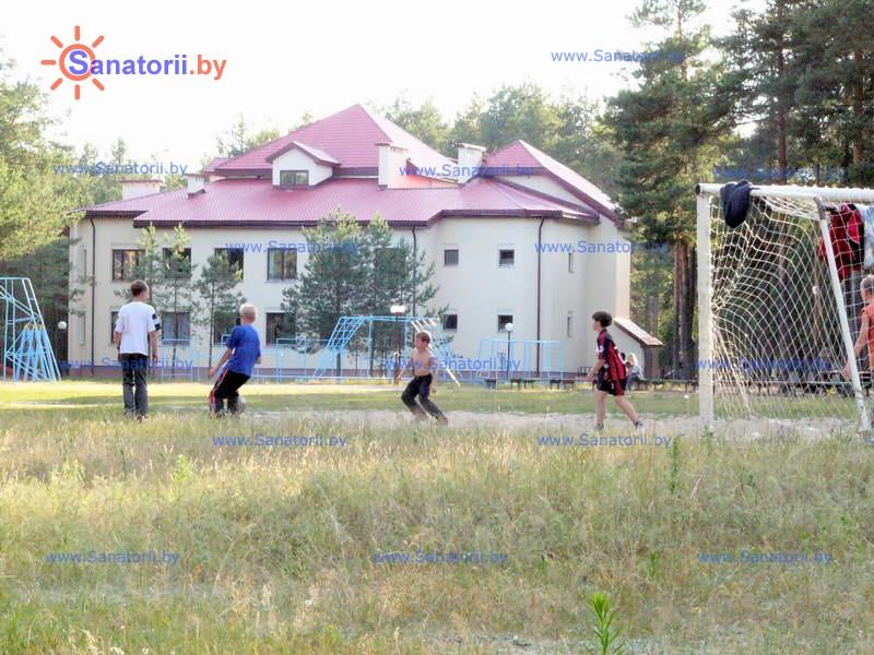 Санатории Белоруссии Беларуси - детский санаторий Боровичок - Территория и природа