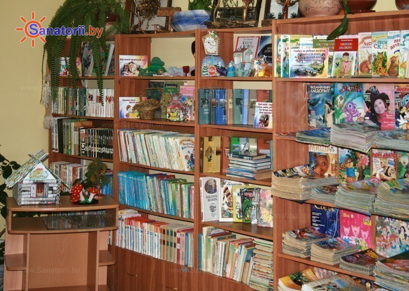 Санатории Белоруссии Беларуси - детский санаторий Боровичок - Библиотека