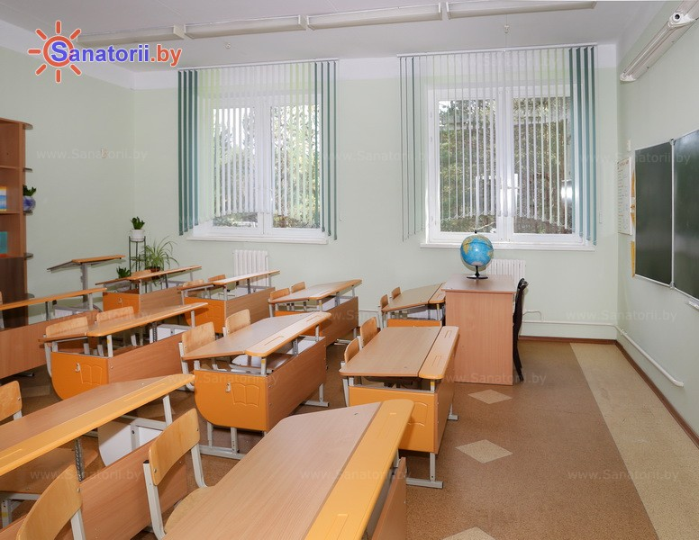 Санатории Белоруссии Беларуси - детский санаторий Боровичок - Школа