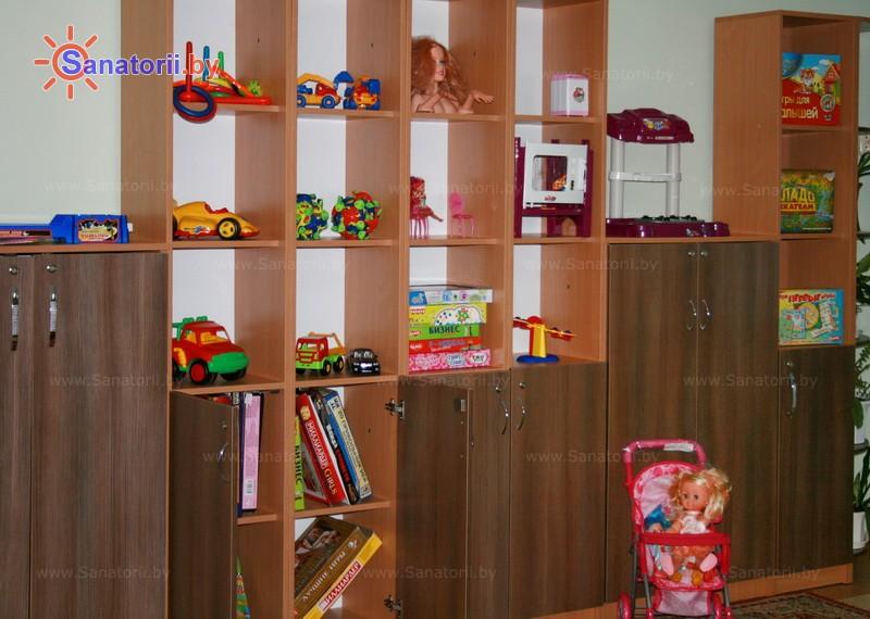Санатории Белоруссии Беларуси - детский санаторий Боровичок - Детская комната