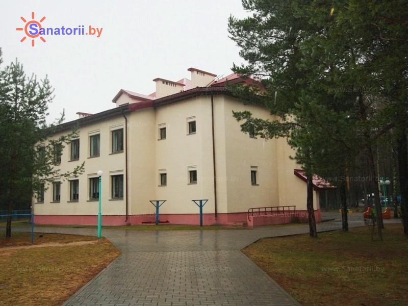 Санатории Белоруссии Беларуси - детский санаторий Боровичок - школьный корпус