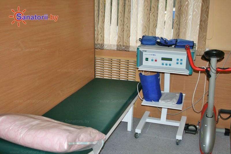 Санатории Белоруссии Беларуси - детский санаторий Боровичок - Магнитотерапия