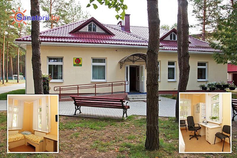 Санатории Белоруссии Беларуси - детский санаторий Боровичок - медицинский пост