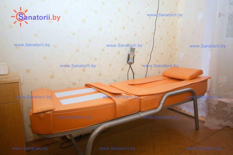 Санатории Белоруссии Беларуси - детский санаторий Боровичок - Массаж аппаратный