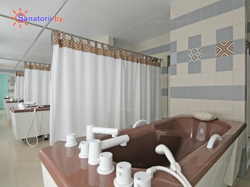 Санаторыі Беларусі - санаторый Плiса - Гразелячэнне