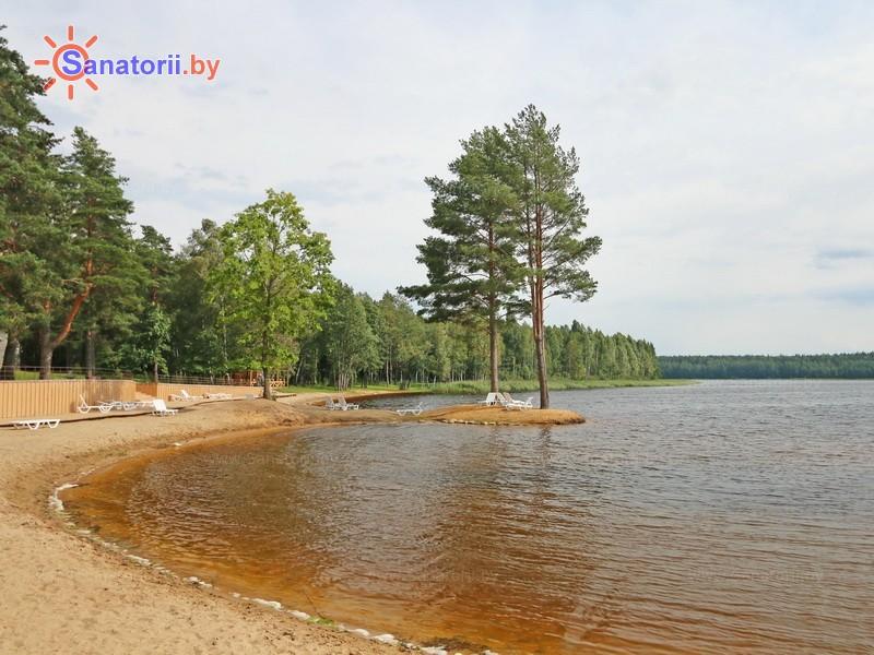Санатории Белоруссии Беларуси - санаторий Плисса - Водоём