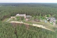 санатория Ислочь - Территория и природа
