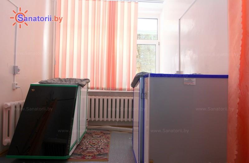 Санатории Белоруссии Беларуси - санаторий Ислочь - Ванна сухая углекислая