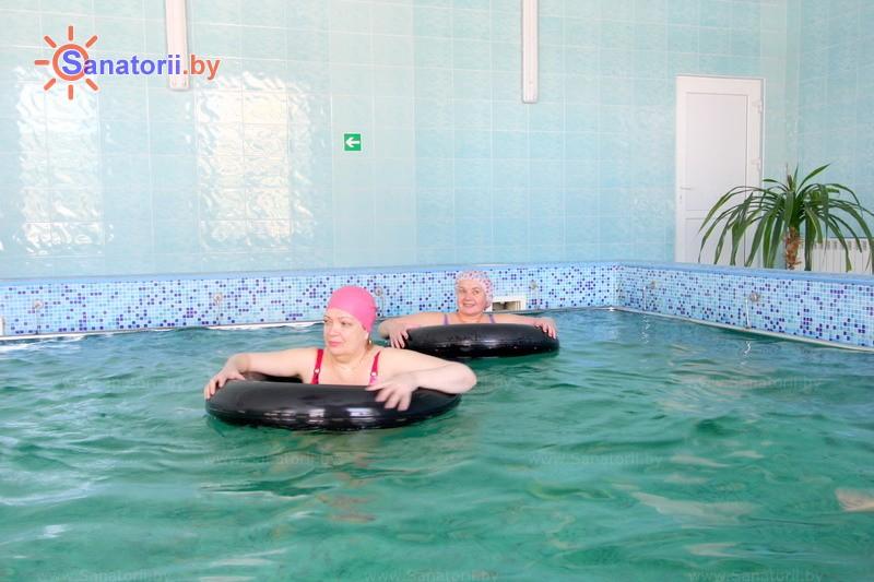 Санатории Белоруссии Беларуси - санаторий Ислочь - Вытяжение позвоночника подводное