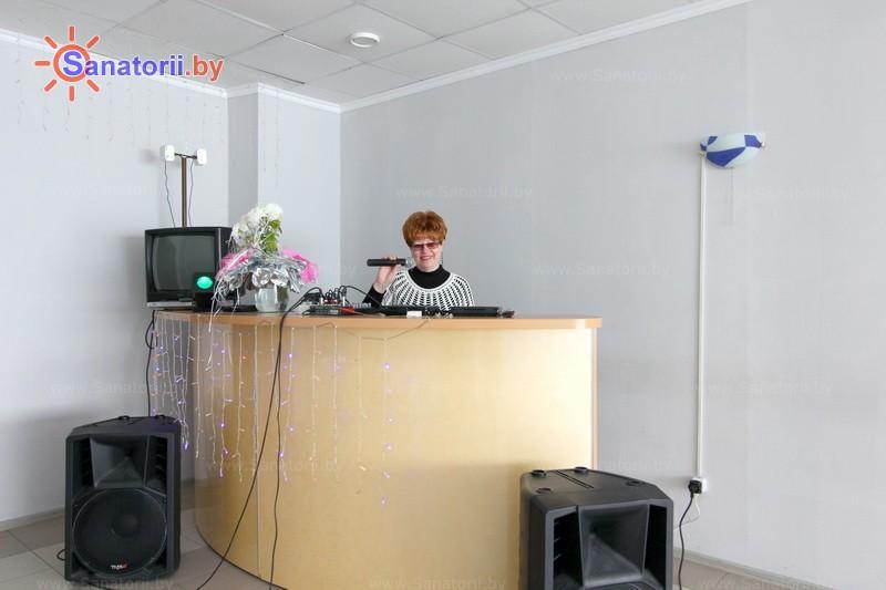 Санатории Белоруссии Беларуси - санаторий Ислочь - Танцевальный зал