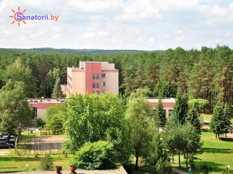 Санатории Белоруссии Беларуси - санаторий Ислочь - главный корпус