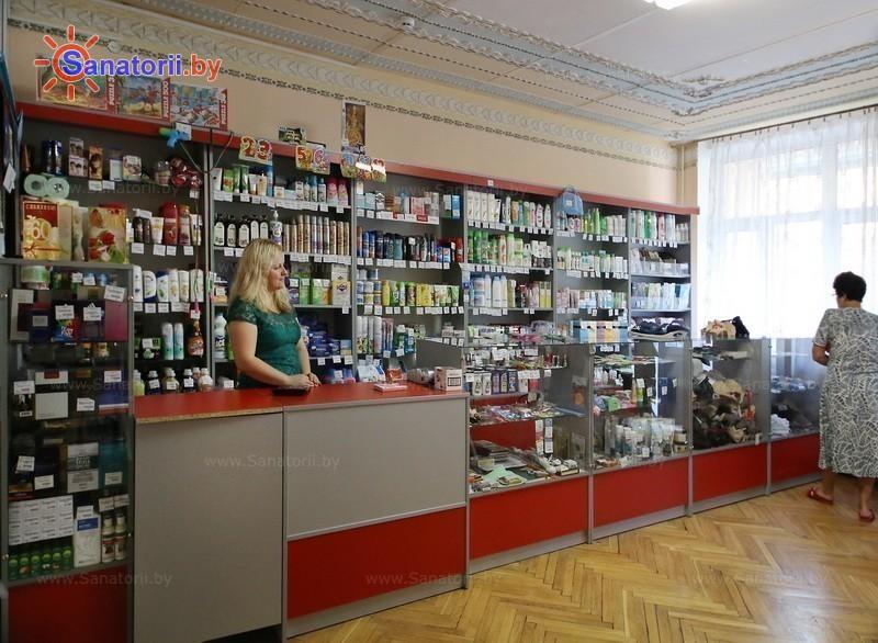 Санатории Белоруссии Беларуси - санаторий Ислочь - Магазин